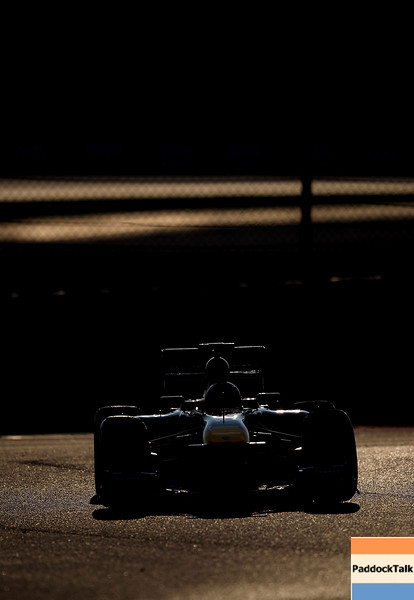 GEPA-20021199011 - FORMULA 1 - Testing in Barcelona, Circuit de Catalunya. Image shows a feature with Mark Webber (AUS/ Red Bull Racing). Photo: Vladimir Rys/ Getty Images - For editorial use only. Image is free of charge