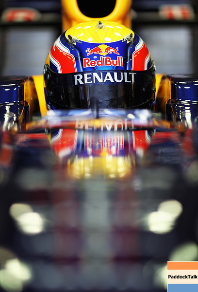 GEPA-10021199022 - FORMULA 1 - Testing in Jerez. Image shows Mark Webber (AUS/ Red Bull Racing). Photo: Paul Gilham/ Getty Images - For editorial use only. Image is free of charge