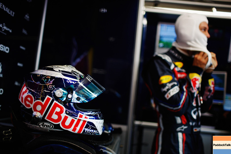 GEPA-10061199000 - FORMULA 1 - Grand Prix of Canada. Image shows Sebastian Vettel (GER/ Red Bull Racing). Keywords: Helmet. Photo: Mark Thompson/ Getty Images - For editorial use only. Image is free of charge