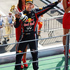 GEPA-11091199012 - FORMULA 1 - Grand Prix of Italy. Image shows the rejoicing of Sebastian Vettel (GER/ Red Bull Racing). Keywords: award ceremony. Photo: Getty Images/ Mark Thompson - For editorial use only. Image is free of charge