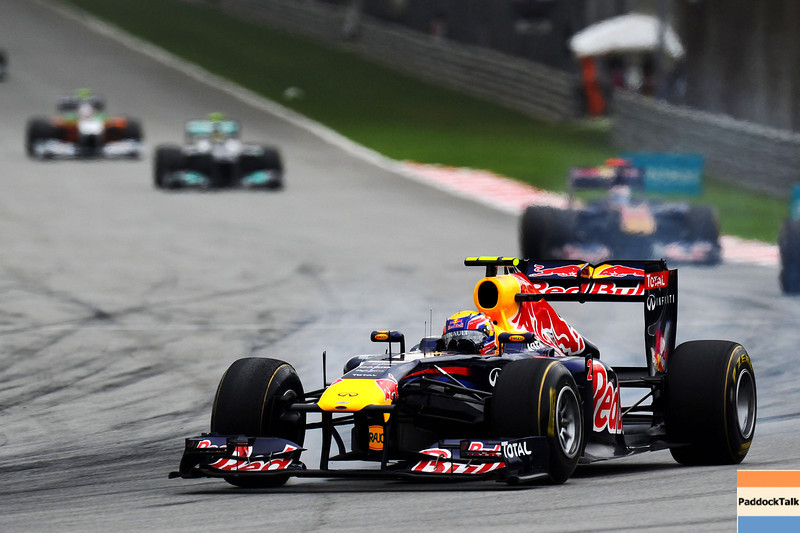 GEPA-10041199001 - FORMULA 1 - Grand Prix of Malaysia, Sepang Circuit. Image shows Mark Webber (AUS/ Red Bull Racing). Photo: Getty Images/ Clive Mason - For editorial use only. Image is free of charge