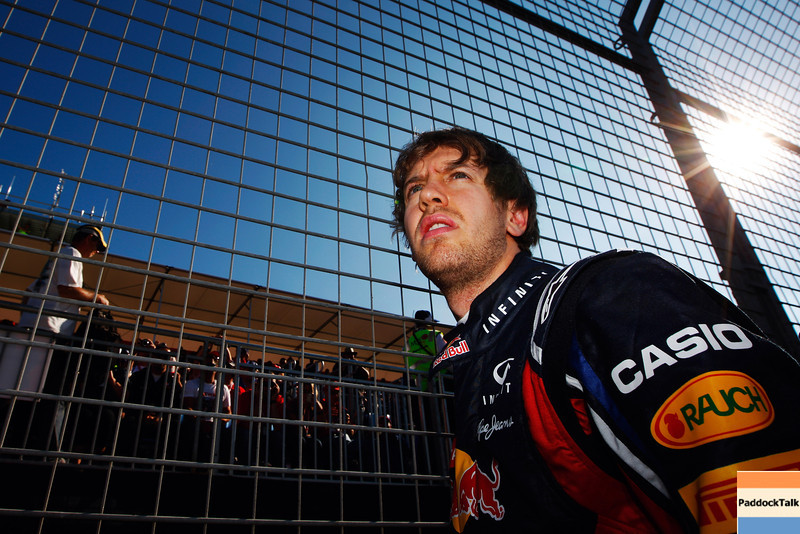 GEPA-27031199027 - FORMULA 1 - Grand Prix of Australia. Image shows Sebastian Vettel (GER/ Red Bull Racing). Photo: Getty Images/ Mark Thompson - For editorial use only. Image is free of charge