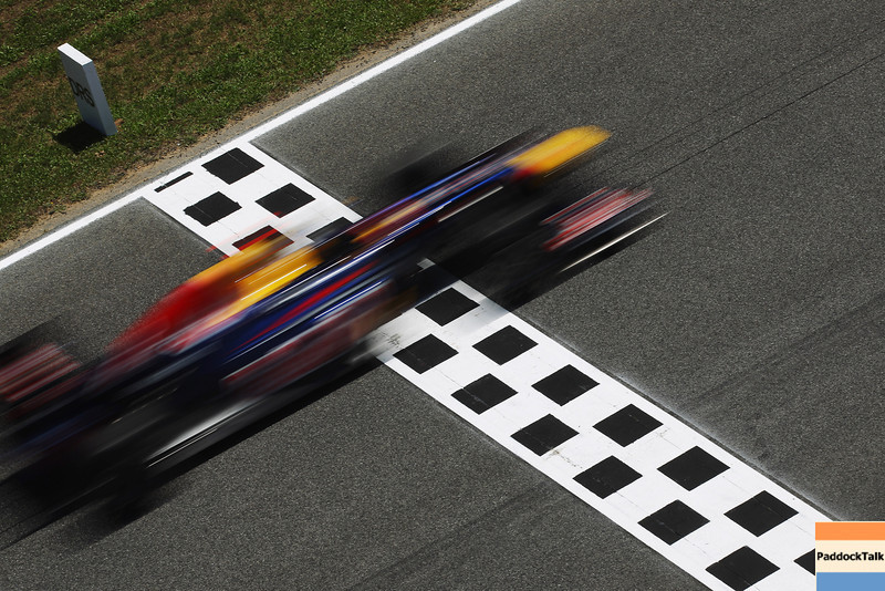 GEPA-20051199023 - FORMULA 1 - Grand Prix of Spain. Image shows a feature with Sebastian Vettel (GER/ Red Bull Racing). Photo: Mark Thompson/ Getty Images - For editorial use only. Image is free of charge