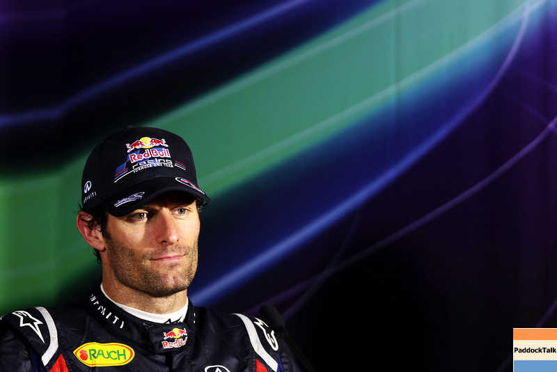 GEPA-17041199032 - FORMULA 1 - Grand Prix of China. Image shows Mark Webber (AUS/ Red Bull Racing). Keywords: press conference. Photo: Getty Images/ Mark Thompson - For editorial use only. Image is free of charge