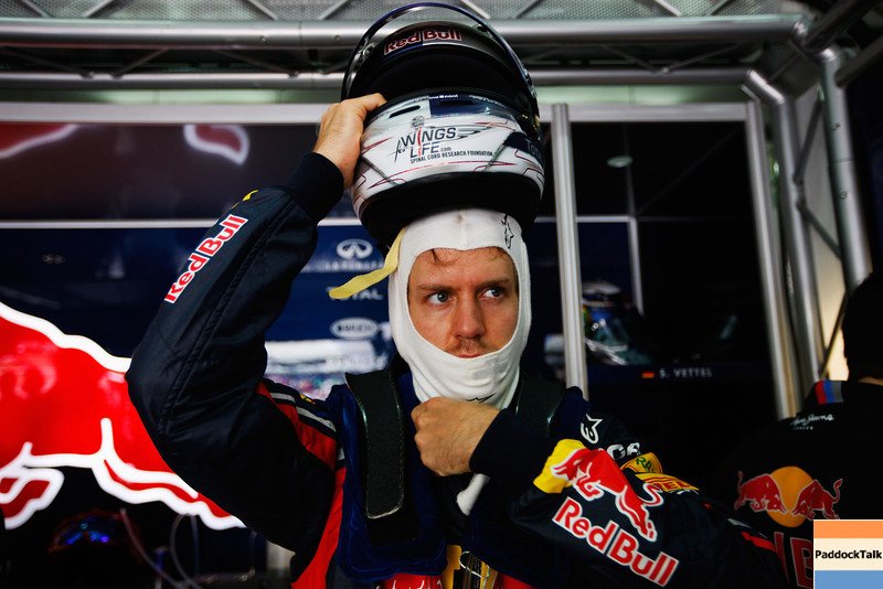 GEPA-09041199017 - FORMULA 1 - Grand Prix of Malaysia, Sepang Circuit. Image shows Sebastian Vettel (GER/ Red Bull Racing). Photo: Getty Images/ Mark Thompson - For editorial use only. Image is free of charge