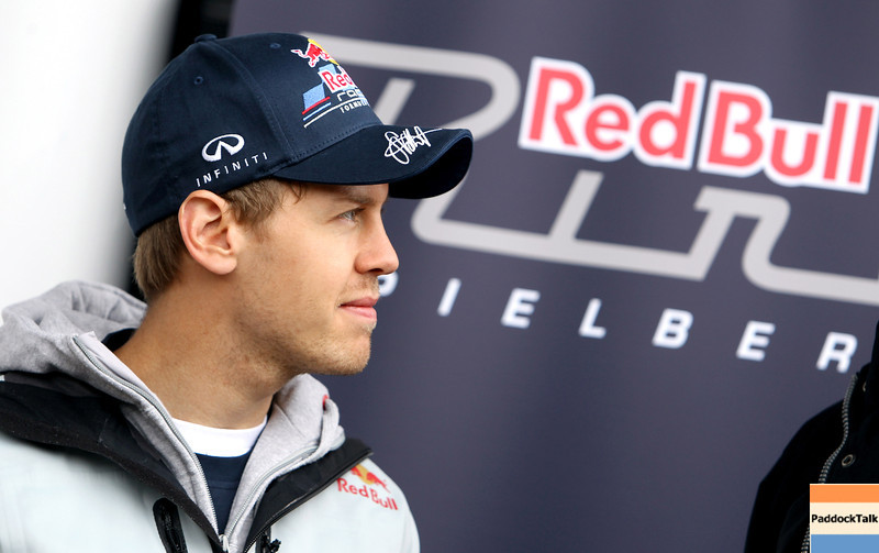 GEPA-15051181024 - SPIELBERG,AUSTRIA,15.MAY.11 - MOTORSPORT, FORMULA 1 - Open House Day Red Bull Ring, project Spielberg. Image shows Sebastian Vettel (GER/ Red Bull Racing). Photo: GEPA pictures/ Christian Walgram - For editorial use only. Image is free of charge.