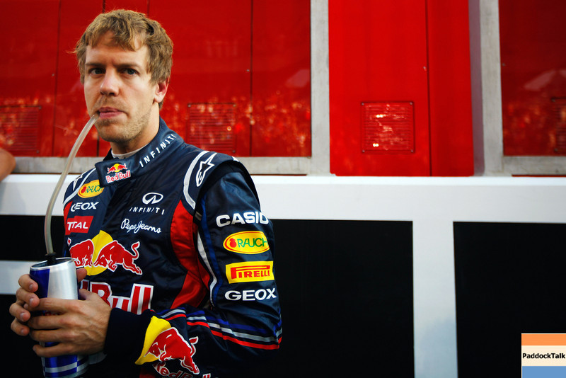 GEPA-13111199002 - FORMULA 1 - Grand Prix of Abu Dhabi, Yas Marina Circuit. Image shows Sebastian Vettel (GER/ Red Bull Racing). Photo: Getty Images/ Mark Thompson - For editorial use only. Image is free of charge