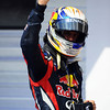GEPA-30071199018 - FORMULA 1 - Grand Prix of Hungary, Hungaroring. Image shows the rejoicing of Sebastian Vettel (GER/ Red Bull Racing). Photo: Getty Images/ Lars Baron - For editorial use only. Image is free of charge