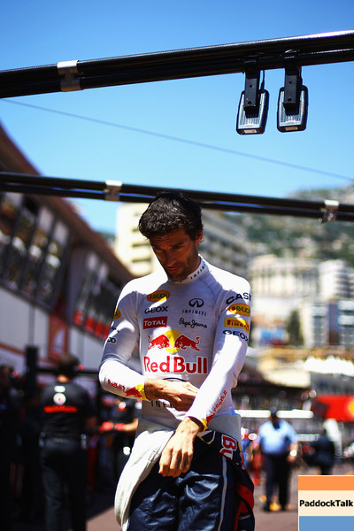 GEPA-28051199017 - FORMULA 1 - Grand Prix of Monaco. Image shows Mark Webber (AUS/ Red Bull Racing). Photo: Vladimir Rys/ Getty Images - For editorial use only. Image is free of charge