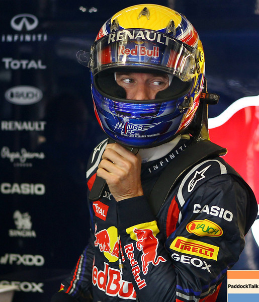 GEPA-22071199010 - FORMULA 1 - Grand Prix of Germany, Nuerburgring. Image shows Mark Webber (AUS/ Red Bull Racing). Photo: Getty Images/ Julian Finney - For editorial use only. Image is free of charge