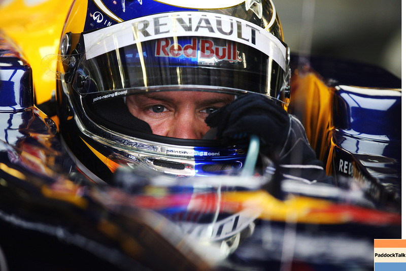 GEPA-29071199000 - FORMULA 1 - Grand Prix of Hungary, Hungaroring. Image shows Sebastian Vettel (GER/ Red Bull Racing). Photo: Getty Images/ Mark Thompson - For editorial use only. Image is free of charge
