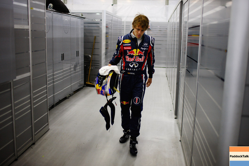 GEPA-16041199023 - FORMULA 1 - Grand Prix of China. Image shows Sebastian Vettel (GER/ Red Bull Racing). Photo: Getty Images/ Mark Thompson - For editorial use only. Image is free of charge