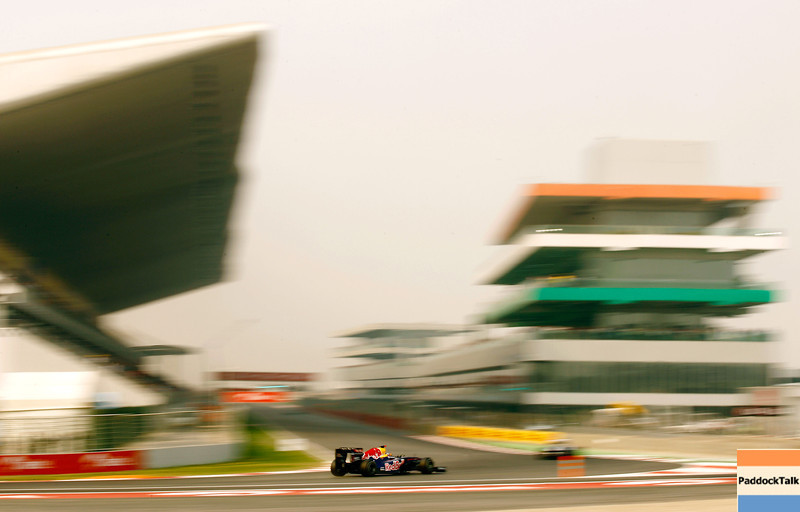 GEPA-29101199009 - FORMULA 1 - Grand Prix of India, Buddh-International-Circuit. Image shows Sebastian Vettel (GER/ Red Bull Racing). Photo: Getty Images/ Paul Gilham - For editorial use only. Image is free of charge