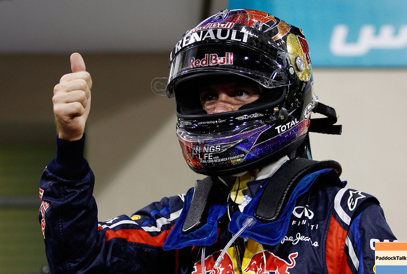 GEPA-12111199009 - FORMULA 1 - Grand Prix of Abu Dhabi, Yas Marina Circuit. Image shows Sebastian Vettel (GER/ Red Bull Racing). Photo: Getty Images/ Paul Gilham - For editorial use only. Image is free of charge