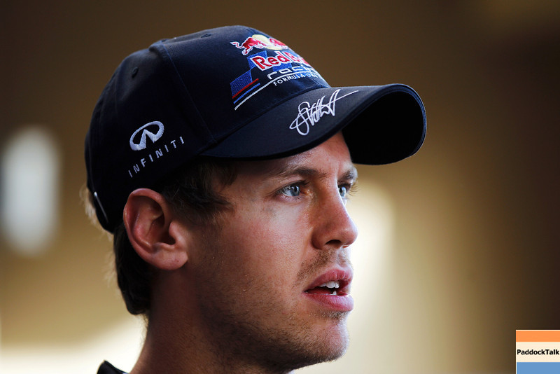 GEPA-10111199003 - FORMULA 1 - Grand Prix of Abu Dhabi, Yas Marina Circuit. Image shows Sebastian Vettel (GER/ Red Bull Racing). Photo: Getty Images/ Paul Gilham - For editorial use only. Image is free of charge