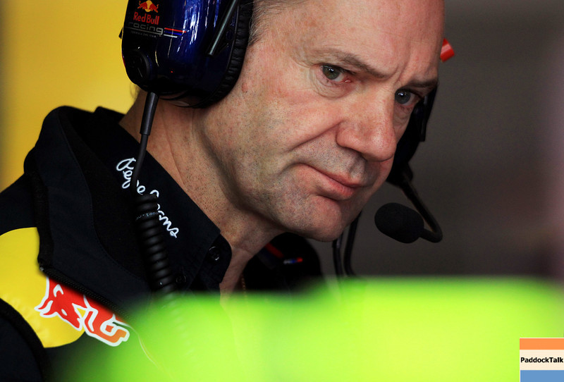 GEPA-20051199008 - FORMULA 1 - Grand Prix of Spain. Image shows technical officer Adrian Newey (Red Bull Racing). Photo: Vladimir Rys/ Getty Images - For editorial use only. Image is free of charge