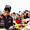 GEPA-14041199005 - FORMULA 1 - Grand Prix of China. Image shows Sebastian Vettel (GER/ Red Bull Racing). keywords: autograph. Photo: Getty Images/ Mark Thompson - For editorial use only. Image is free of charge