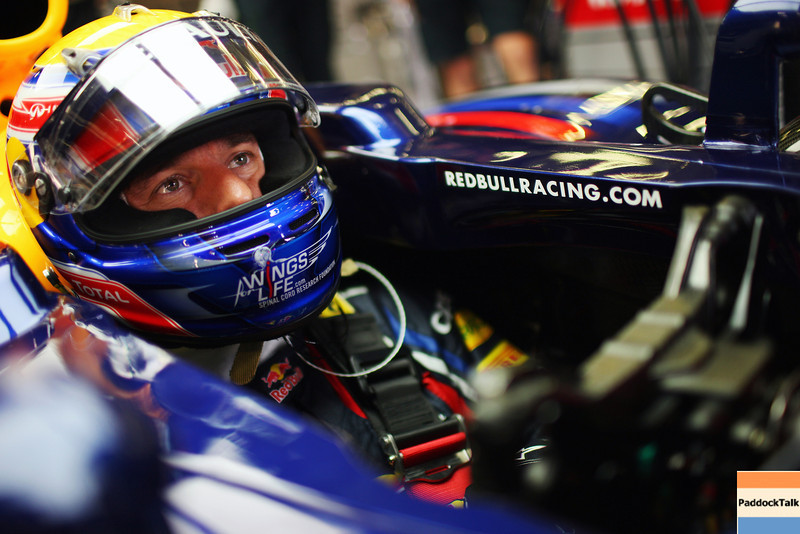 GEPA-26081199002 - FORMULA 1 - Grand Prix of Belgium, Spa Francorchamps. Image shows Mark Webber (AUS/ Red Bull Racing). Photo: Getty Images/ Mark Thompson - For editorial use only. Image is free of charge