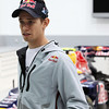 GEPA-08061199003 - FORMULA 1, MOTOGP - MotoGP Riders Visit Red Bull Factory. Image shows Casey Stoner (AUS/ Honda). Photo: Getty Images/ Bryn Lennon - For editorial use only. Image is free of charge