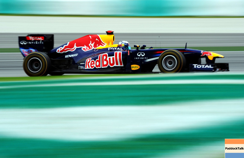 GEPA-09041199002 - FORMULA 1 - Grand Prix of Malaysia, Sepang Circuit. Image shows Sebastian Vettel (GER/ Red Bull Racing). Photo: Getty Images/ Clive Mason - For editorial use only. Image is free of charge