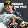 GEPA-16101199005 - FORMULA 1 - Grand Prix of South Korea, Korean International Circuit. Image shows Sebastian Vettel (GER/ Red Bull Racing). Keywords: award ceremony, champagner. Photo: Getty Images/ Clive Rose - For editorial use only. Image is free of charge