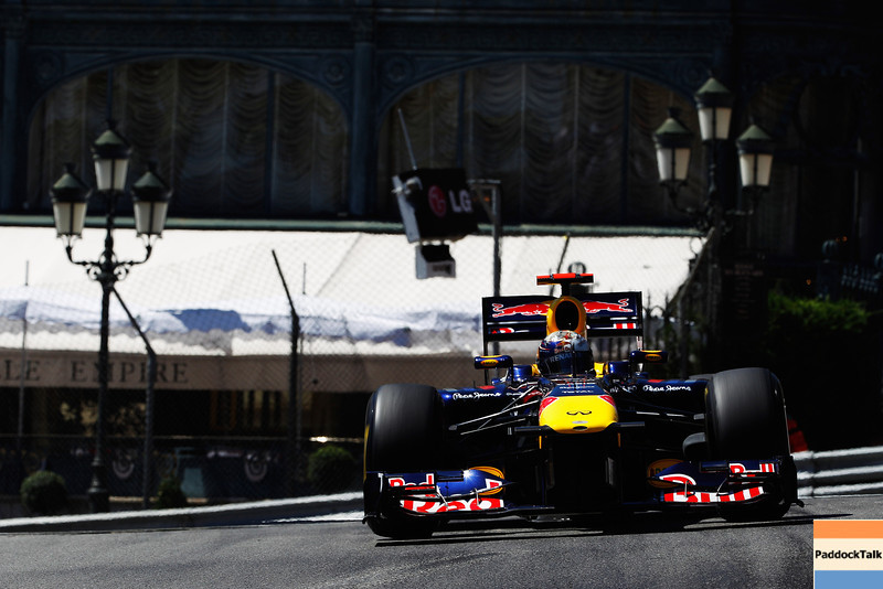 GEPA-28051199001 - FORMULA 1 - Grand Prix of Monaco. Image shows Sebastian Vettel (GER/ Red Bull Racing). Photo: Mark Thompson/ Getty Images - For editorial use only. Image is free of charge