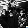 GEPA-14101199003 - FORMULA 1 - Grand Prix of South Korea, Korean International Circuit. Image shows race engineer Guillaume Rocquelin und Sebastian Vettel (GER/ Red Bull Racing). Photo: Getty Images/ Clive Rose - For editorial use only. Image is free of charge