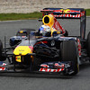 GEPA-11031199005 - FORMULA 1 - Testing in Barcelona, Circuit de Catalunya. Image shows Sebastian Vettel (GER/ Red Bull Racing). Photo: Vladimir Rys/ Getty Images - For editorial use only. Image is free of charge