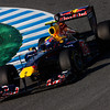 GEPA-12021199000 - FORMULA 1 - Testing in Jerez. Image shows Mark Webber (AUS/ Red Bull Racing). Photo: Mark Thompson/ Getty Images - For editorial use only. Image is free of charge