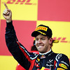GEPA-09101199030 - FORMULA 1 - Grand Prix of Japan. Image shows the rejoicing of Sebastian Vettel (GER/ Red Bull Racing). Keywords: award ceremony. Photo: Getty Images/ Clive Rose - For editorial use only. Image is free of charge