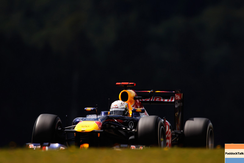 GEPA-23071199002 - FORMULA 1 - Grand Prix of Germany, Nuerburgring. Image shows Sebastian Vettel (GER/ Red Bull Racing). Photo: Getty Images/ Mark Thompson - For editorial use only. Image is free of charge