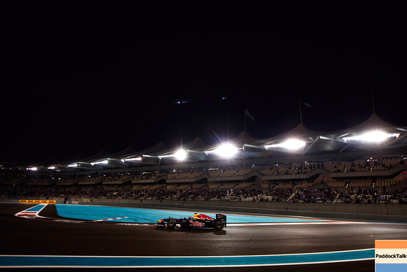 GEPA-13111199006 - FORMULA 1 - Grand Prix of Abu Dhabi, Yas Marina Circuit. Image shows Mark Webber (AUS/ Red Bull Racing). Photo: Getty Images/ Mark Thompson - For editorial use only. Image is free of charge