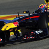 GEPA-03021199000 - FORMULA 1 - Testing in Valencia. Image shows Mark Webber (AUS/ Red Bull Racing). Photo: Paul Gilham/ Getty Images - For editorial use only. Image is free of charge