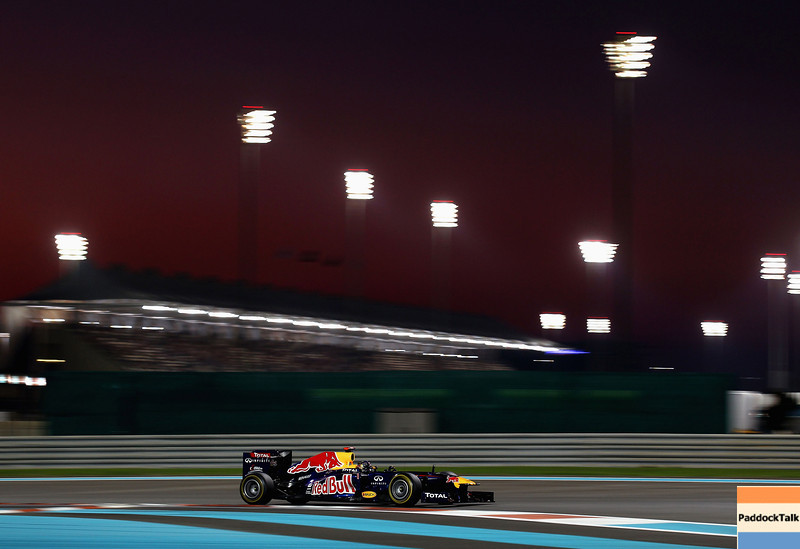 GEPA-12111199014 - FORMULA 1 - Grand Prix of Abu Dhabi, Yas Marina Circuit. Image shows Sebastian Vettel (GER/ Red Bull Racing). Photo: Getty Images/ Clive Mason - For editorial use only. Image is free of charge