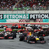 GEPA-10041199009 - FORMULA 1 - Grand Prix of Malaysia, Sepang Circuit. Image shows Sebastian Vettel (GER/ Red Bull Racing) and Lewis Hamilton (GBR/ McLaren Mercedes). Photo: Getty Images/ Mark Thompson - For editorial use only. Image is free of charge