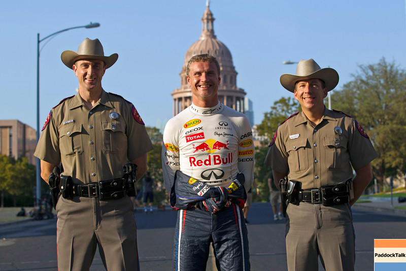 GEPA-19081199900 - FORMULA 1 - Showrun, Circuit of the Americas. Image shows David Coulthard (GBR). Photo: Red Bull Contentpool/ Chris Tedesco - For editorial use only. Image is free of charge