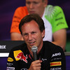 GEPA-26081199018 - FORMULA 1 - Grand Prix of Belgium, Spa Francorchamps. Image shows team principal Christian Horner (Red Bull Racing). Keywords: press conference. Photo: Getty Images/ Vladimir Rys - For editorial use only. Image is free of charge
