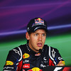 GEPA-30071199025 - FORMULA 1 - Grand Prix of Hungary, Hungaroring. Image shows Sebastian Vettel (GER/ Red Bull Racing). Keywords: press conference. Photo: Getty Images/ Mark Thompson - For editorial use only. Image is free of charge