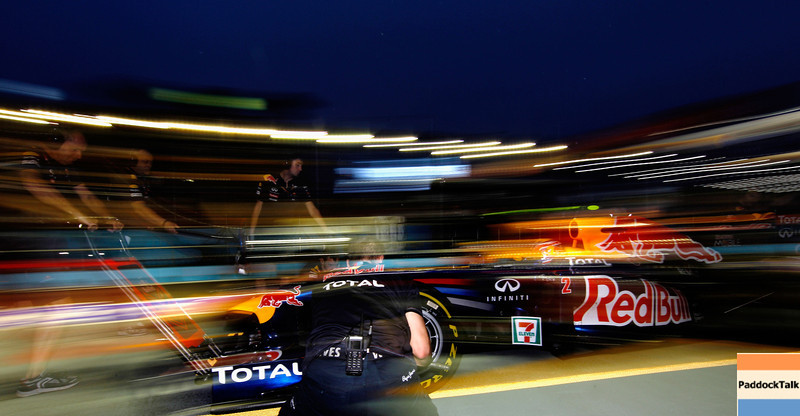 GEPA-24091199012 - FORMULA 1 - Grand Prix of Singapore. Image shows Mark Webber (AUS/ Red Bull Racing). Photo: Getty Images/ Paul Gilham - For editorial use only. Image is free of charge