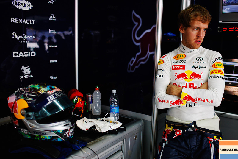 GEPA-25111199005 - FORMULA 1 - Grand Prix of Brazil, Interlagos. Image shows Sebastian Vettel (GER/ Red Bull Racing). Photo: Getty Images/ Mark Thompson - For editorial use only. Image is free of charge