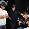 GEPA-08061199017 - FORMULA 1, MOTOGP - MotoGP Riders Visit Red Bull Factory. Image shows Andrea Dovizioso (ITA) and Casey Stoner (AUS/ Honda). Photo: Getty Images/ Bryn Lennon - For editorial use only. Image is free of charge