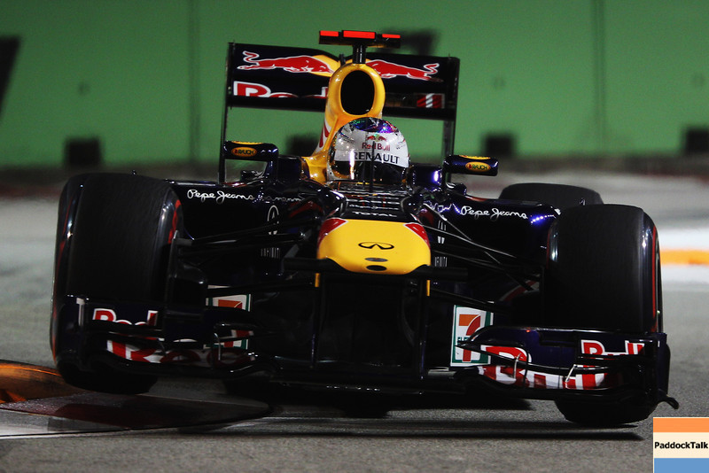 GEPA-24091199015 - FORMULA 1 - Grand Prix of Singapore. Image shows Sebastian Vettel (GER/ Red Bull Racing). Photo: Getty Images/ Mark Thompson - For editorial use only. Image is free of charge