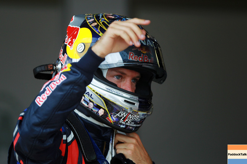 GEPA-09071199012 - FORMULA 1 - Grand Prix of Great Britain. Image shows Sebastian Vettel (GER/ Red Bull Racing). Photo: Getty Images/ Mark Thompson - For editorial use only. Image is free of charge