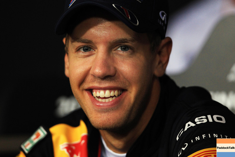 GEPA-22091199006 - FORMULA 1 - Grand Prix of Singapore. Image shows Sebastian Vettel (GER/ Red Bull Racing). Photo: Getty Images/ Vladimir Rys - For editorial use only. Image is free of charge