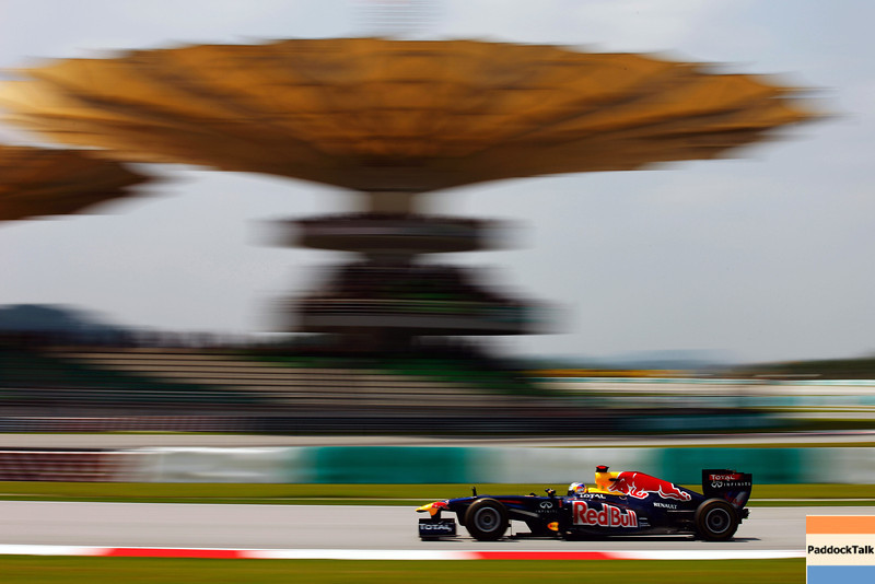 GEPA-08041199022 - FORMULA 1 - Grand Prix of Malaysia, Sepang Circuit. Image shows Sebastian Vettel (GER/ Red Bull Racing). Photo: Getty Images/ Mark Thompson - For editorial use only. Image is free of charge