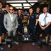 GEPA-28051199019 - FORMULA 1 - Grand Prix of Monaco. Image shows Actor Jason Statham and the Red Bull Racing Team. Photo: Vladimir Rys/ Getty Images - For editorial use only. Image is free of charge
