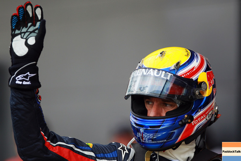 GEPA-09071199011 - FORMULA 1 - Grand Prix of Great Britain. Image shows Mark Webber (AUS/ Red Bull Racing). Photo: Getty Images/ Mark Thompson - For editorial use only. Image is free of charge