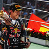 GEPA-11091199015 - FORMULA 1 - Grand Prix of Italy. Image shows the rejoicing of Sebastian Vettel (GER/ Red Bull Racing). Keywords: award ceremony. Photo: Getty Images/ Mark Thompson - For editorial use only. Image is free of charge