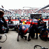 GEPA-11061199028 - FORMULA 1 - Grand Prix of Canada. Image shows Mark Webber (AUS/ Red Bull Racing). Keywords: pit stop. Photo: Mark Thompson/ Getty Images - For editorial use only. Image is free of charge