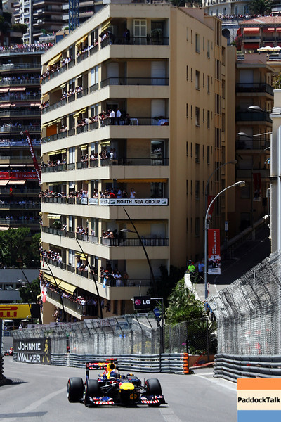 GEPA-29051199001 - FORMULA 1 - Grand Prix of Monaco. Image shows Sebastian Vettel (GER/ Red Bull Racing). Photo: Ker Robertson/ Getty Images - For editorial use only. Image is free of charge